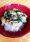 フライパンで簡単☆揚げニラ玉丼