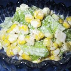 フレッシュコーンの茹で方&実の取り方&簡単サラダ