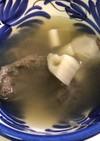 牛スネ肉とれんこんのスープ