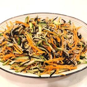 切り干し大根とひじきのサラダ