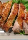 簡単料理!!魚グリルde鶏肉の照り焼き