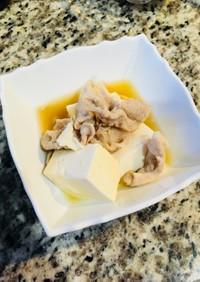 糖質制限レシピ:肉と豆腐のみぞれ煮