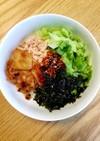 簡単ランチ♪即席ツナのビビンバ⭐韓国の味