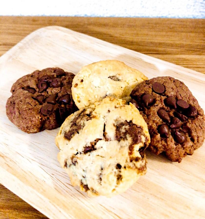 時短 HM 超簡単 ビニール袋でクッキー