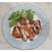簡単美味しいすき焼きだれで鶏肉山椒焼きの写真