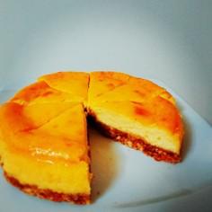 しっとり簡単ベイクドチーズケーキ