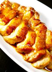 ぷりぷりジューシー南蛮酢で鶏もも肉甘酢煮の写真