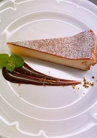 【超濃厚】ベイクドチーズケーキ