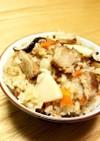 もっちり中華おこわ風⭐豚角煮炊き込みご飯