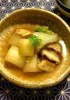 おでんリメイク☆冬瓜•白菜•椎茸の煮物