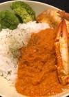 ワタリガニとカジキのインドカレー