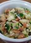 簡単!!納豆と胡瓜の冥加和え