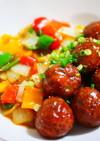 お豆腐でふっくら♪カラフル肉団子