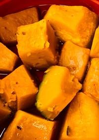 かぼちゃの煮物 冷凍素材をレンジ圧力鍋で