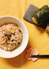 簡単!きのことツナ缶の塩麹炊き込みご飯