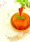 源氏パイで柿のタルトタタン♪