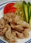 洋食屋さんの再現レシピ からし焼き肉