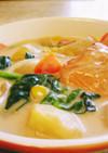 鮭のクリームシチュー