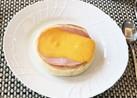 簡単^_^マフィンでハムチーズトースト