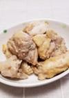 鶏もも肉♪ピーナッツバター・めんつゆ和え