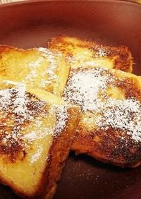 簡単 食パンフレンチトースト