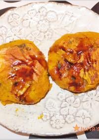 南瓜の煮物アレンジ☆かぼちゃチーズもち