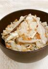 生姜ときのこの炊き込みご飯