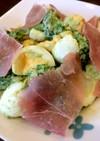 アボカドとブロッコリーとゆで卵のサラダ♪