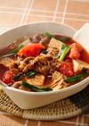 すき焼き風トマトスープ