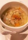 コストコのロティサリーチキンで野菜スープ