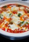 子供も喜ぶ♡野菜たっぷり トマトチーズ鍋