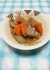 ニンジンとこんにゃくの味噌煮