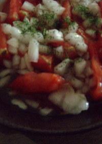 スイ―トチリソース好き集合 トマトサラダ