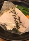 超簡単!タジン鍋で白身魚の香草蒸し!