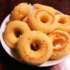 バムケロちゃんの簡単焼きドーナツ
