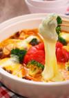のびうまモッツァレラの丸ごとトマト鍋
