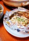 ♡鮭とキノコのガーリック醤油バター♡