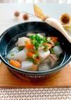 根菜たっぷり★食べる中華風スープ