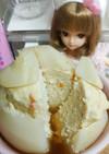 リカちゃん♡かぶ丸ごと蒸し(鶏ひき肉入)