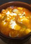 プチキムチ鍋〜♫