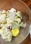 ブロッコリーとさつま芋のゴロゴロサラダ