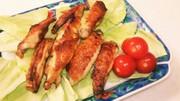 魚焼きグリルで、簡単手羽中カレー風味焼きの写真