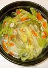 白菜豚肉ミルフィーユ鍋♪簡単