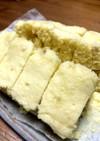 HMと粉末コーンポタージュで蒸しパン