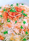 スーパースプラウトと鮭フレークの混ぜご飯