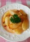 梨のバターソテー