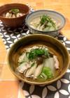 水から煮るキノコ達☆白菜&豚バラ塩スープ