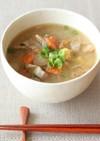 【和食編】秋らしさを添えた豚汁スープ玉