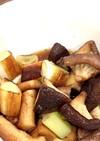 ズボラ美味しい椎茸とネギの煮浸し風