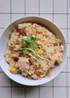 簡単!秋鮭とコーンの炊き込みご飯